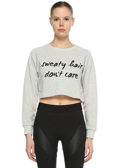 Minkpink Active Sweatshirt Gri